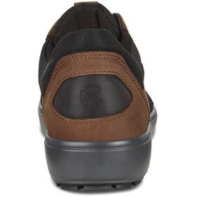 ECCO Soft 7 Tred Scarpe Uomo, black/cocoa brown